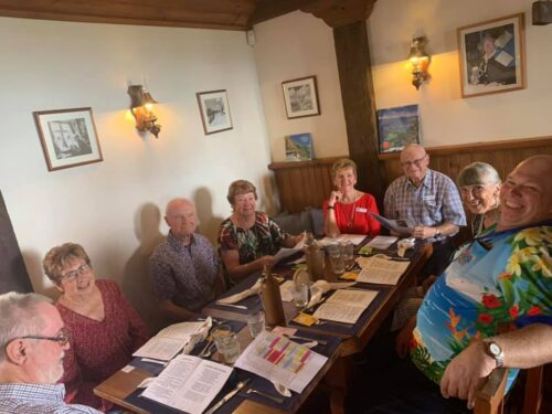 Mother's Day at King Ludwig's German Restaurant - Singing Songs
